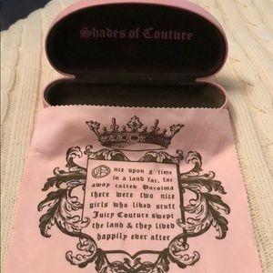 Juicy Couture Hardshell Sunglass Case Set
